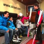 Ski hire in La Plagne with Ski Set